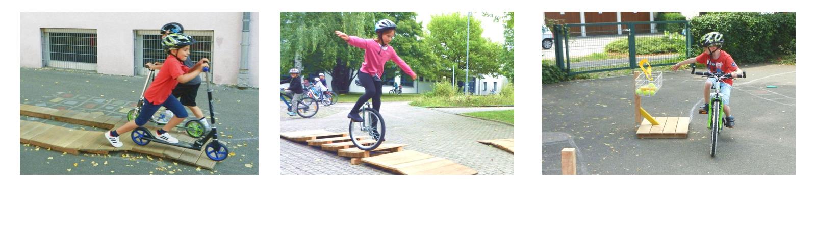 Fahrradparcours Schulen Top